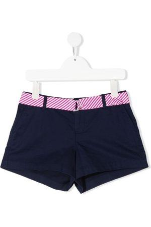 Ralph Lauren Shorts con cinturón a rayas