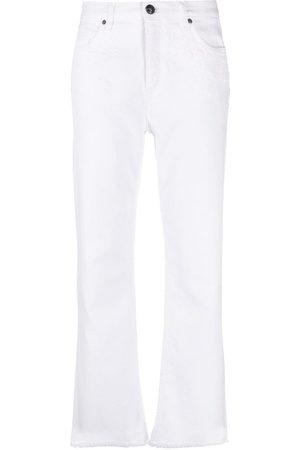 Etro Jeans anchos con tiro medio