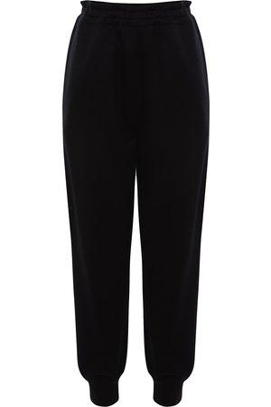 Alexander McQueen Pants con logo bordado
