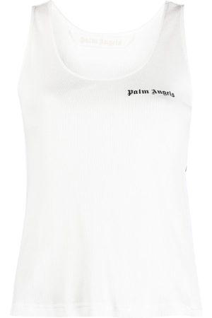 Palm Angels Camiseta con logo estampado