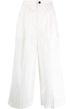 Woolrich Pantalones capri anchos