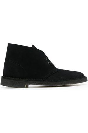 Clarks Zapatos de gamuza con agujetas