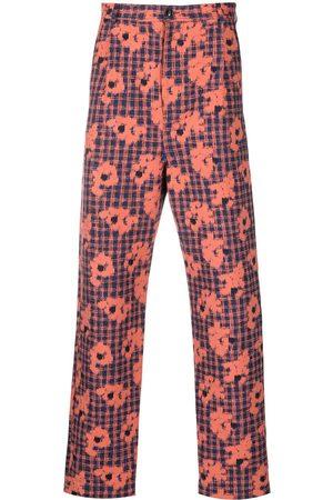 HENRIK VIBSKOV Pantalones slim con estampado floral