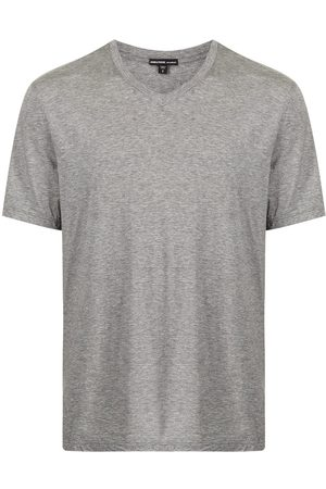 James Perse Playera con cuello en V