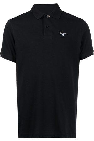 Barbour Playera tipo polo con logo bordado