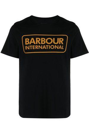 Barbour Playera con logo estampado