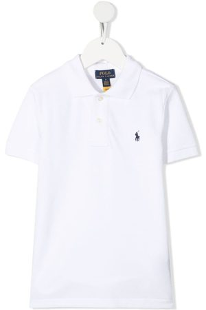 Ralph Lauren Playera tipo polo con logo bordado