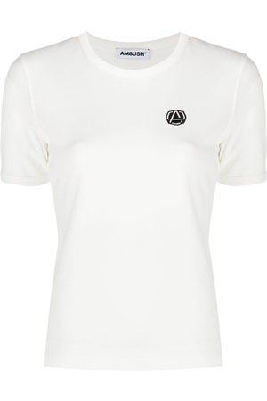 AMBUSH Emblem patch slim-fit T-shirt