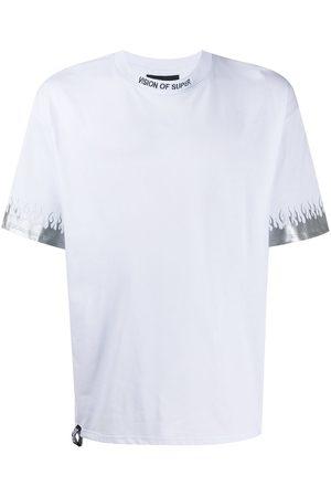 Vision Of Super Camiseta con motivo de llamas