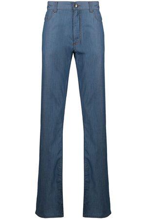 CANALI Jeans rectos con tiro medio