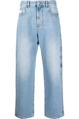 GCDS Jeans rectos con parche del logo
