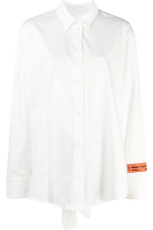 Heron Preston Camisa con espalda descubierta