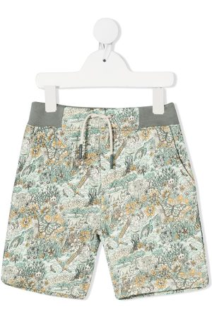 BONPOINT Shorts con estampado Safari