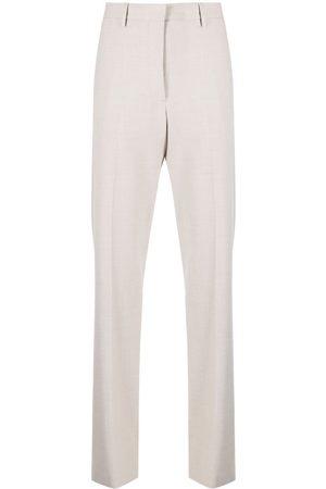 OFF-WHITE Pantalones de vestir con parche del logo