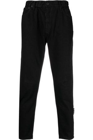 OFF-WHITE Jeans rectos con tiro alto