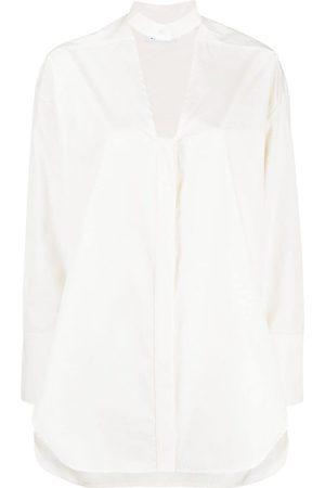 AMBUSH Cut-out buttoned shirt
