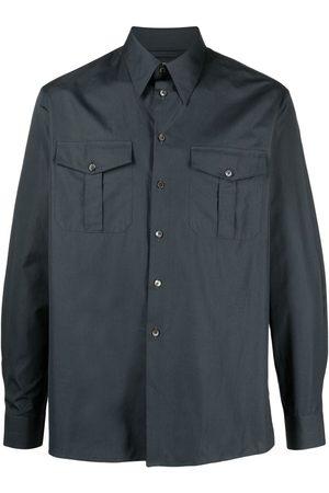 LEMAIRE Camisa con bolsillos con solapa