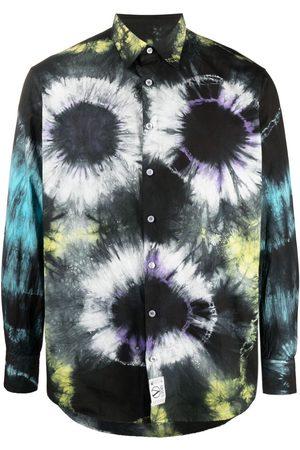ARIES Camisa con estampado tie-dye