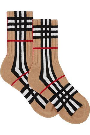 Burberry Calcetines con motivo de cuadros