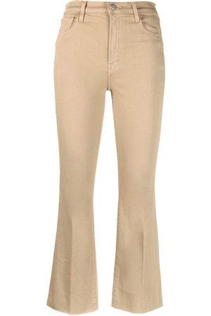 J Brand Pantalones capri acampanados