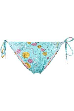 Emilio Pucci Bikini bottom con estampado de conchas de mar