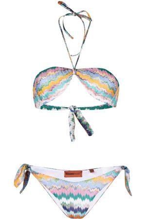 Missoni Bikini con cuello halter
