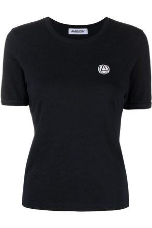 AMBUSH Logo-embroidered T-shirt