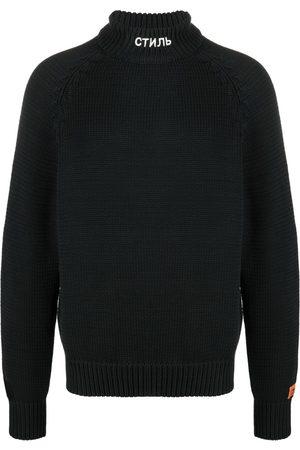 Heron Preston Suéter tejido CTNMB