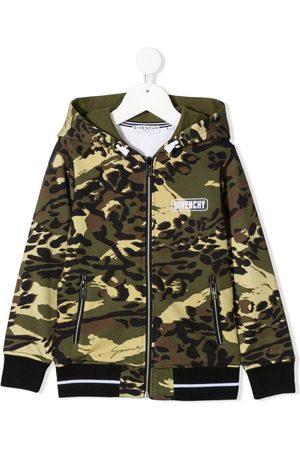 Givenchy Hoodie con estampado militar