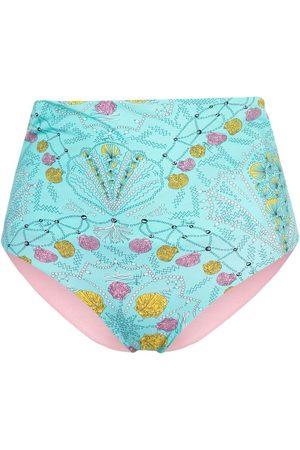 Emilio Pucci Bikini bottom con conchas de mar estampadas