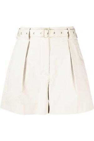 AMBUSH Belted cotton shorts