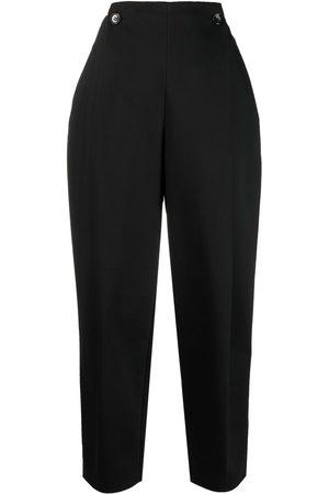12 STOREEZ Pantalones de tiro alto con pinzas