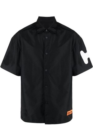 Heron Preston Sleeve logo bowling shirt