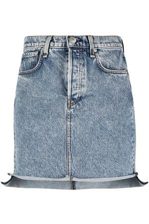 RAG&BONE Falda de mezclilla ajustada
