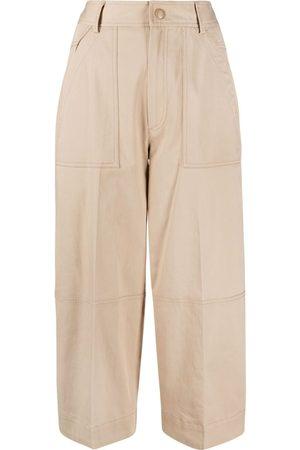 Moncler Pantalones capri con paneles