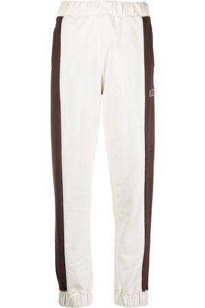 Ganni Pants con logo bordado