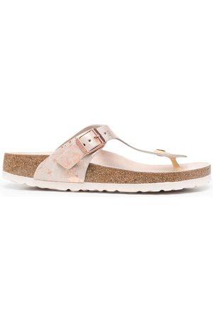 Birkenstock Flip flops con estampado marmoleado