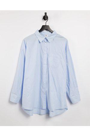 Cotton:On Dad shirt in blue stripe