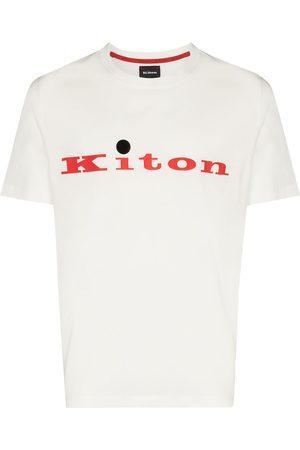 Kiton Playera con logo estampado