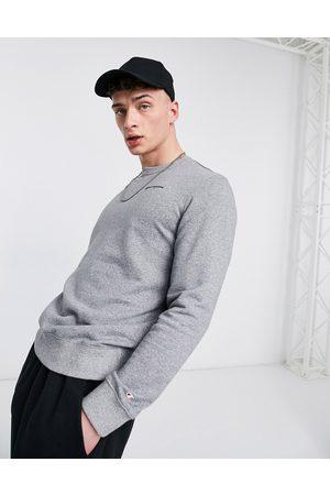 Champion Small script logo sweatshirt in grey