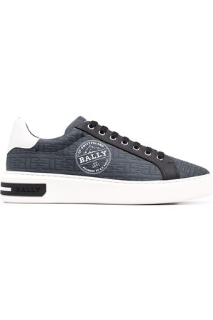 Bally Tenis bajos Miky-Patch