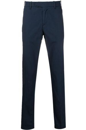 ELEVENTY Pantalones chino con cierre oculto