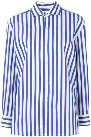 Ralph Lauren Mujer Camisas - Camisa con estampado a rayas diplomáticas