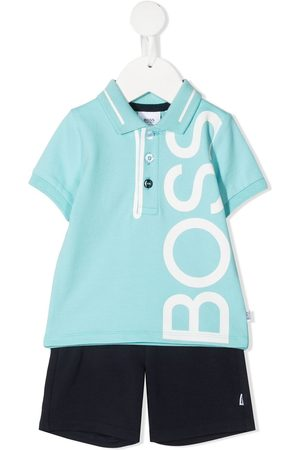 HUGO BOSS Playera tipo polo con logo