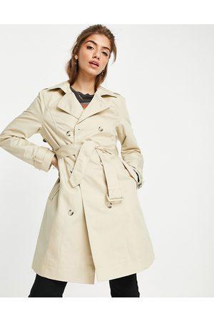 Miss Selfridge Mujer Gabardinas - Trench coat in stone