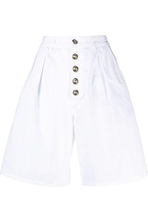 Etro Shorts anchos con tiro alto