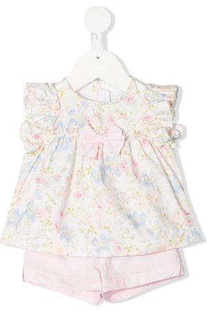 Il gufo Vestido corto con estampado floral