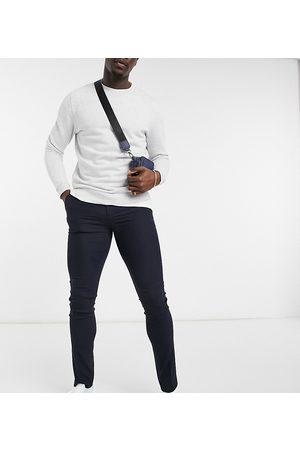 ASOS Hombre Slim y skinny - Tall skinny suit trouser in navy