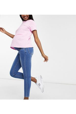 Cotton On Overbump super stretch skinny jean in blue
