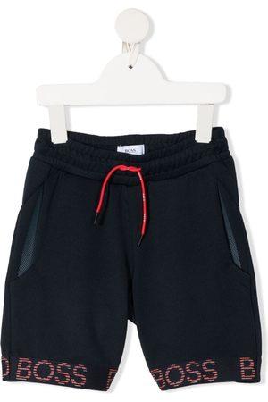 HUGO BOSS Shorts deportivos con franjas del logo